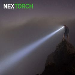 마이스타 760루멘 220미터 롱샷 줌  충전식 헤드랜턴블랙
