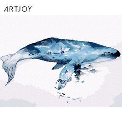 아트조이 DIY 명화그리기 푸른 고래 40x30cm
