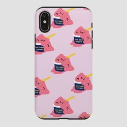 터프 아수쿠림 딸기 핑크
