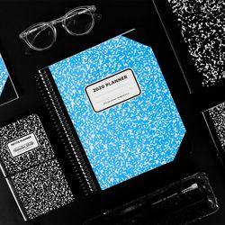 아이스타일 2020 체인저블다이어리-컴포지션 네온 블루(비각인)