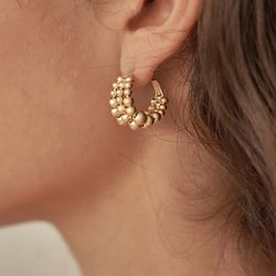 813 EARRINGS [GOLD]