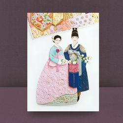 청사초롱 내님카드 FT226-3