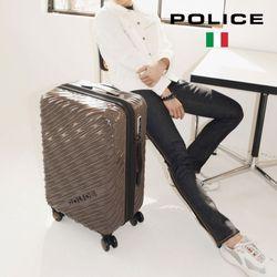 [POLICE] 폴리스 로제 화물용 딥초코 24형 여행용캐리어