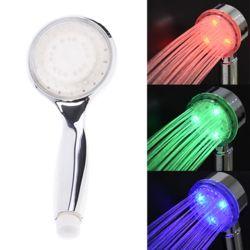온도변화 LED 샤워헤드 욕실소품 샤워기