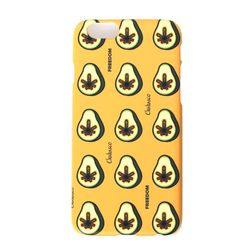 츄바스코 아보카도 프리덤 휴대폰케이스 CCY002 옐로우