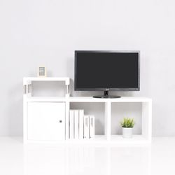 큐빅스1 TV장식장 컬러쿠3S(도어)