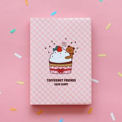 TOFFEENUT FRIENDS 2020 DIARY