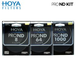 HOYA 55mm PRO ND FILTER KIT 8/64/1000 ND필터 /K