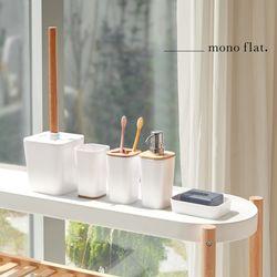 모노플랫 뱀부 욕실 용품 세트