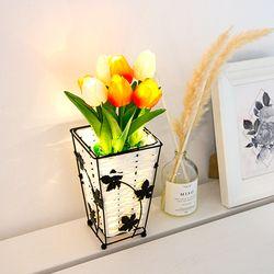 [무료배송] 레토 LED 튤립 무드등 LML-FT02S (선셋) 꽃 화분 조명