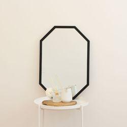 레인보우 팔각 벽거울