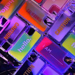 엘라고 아이폰11 샌드(야광) 케이스 (6.1)