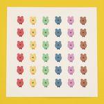[한톨상점] 나비넥타이 반곰이 스티커