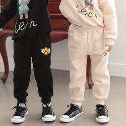 [꿈꾸는아이 할인] 브롤스타즈 기모 조거팬츠 9세부터 12세까지공용
