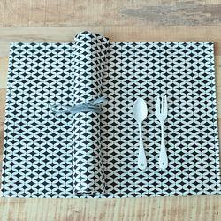 마메종 서클 방수식탁매트(50cm)
