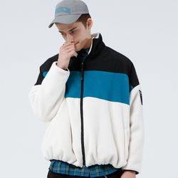 FLEECE BOA DROP JACKET (IVORY)