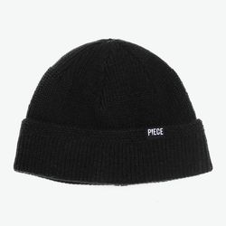 MOHAIR WATCH CAP W (BLACK)