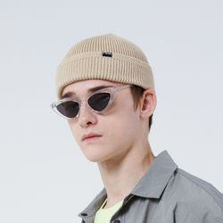 COTTON WATCH CAP F (BEIGE)