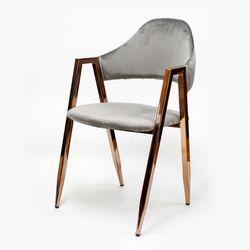 로즈골드벨벳비올렛체어 식탁 디자인 카페의자