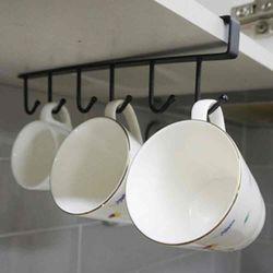 진주리빙 다용도 클립형 컵홀더 수납장 컵걸이