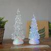 크리스마스 투명 트리 LED 워터볼 - 소