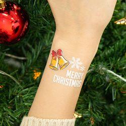 크리스마스 야광 타투스티커