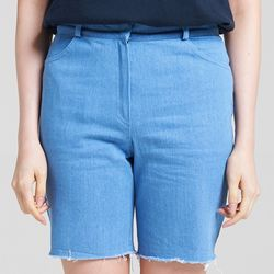 DENIM SHORTS (LIGHT BLUE)