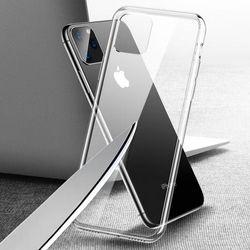 아이폰 11 PRO MAX 투명 강화유리케이스 CS
