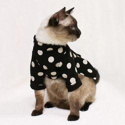 [CAT] 몽페레 플러피 도트원피스 (Snug Black)