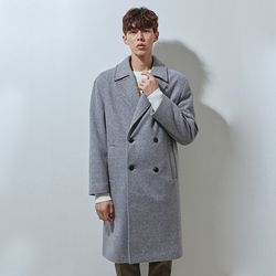 230 double coat check grey