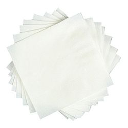 칵테일 백색 무지 냅킨 무형광 10봉 5000매