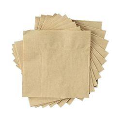 칵테일 갈색 무지 냅킨 친환경 1봉 500매