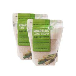 리사랄다 크리스탈 비정제 사탕수수당 500g 2개세트