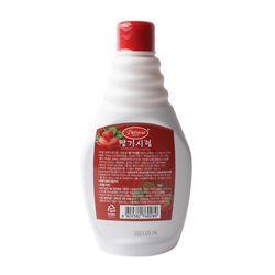 팥모아 딸기시럽 500g