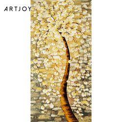아트조이 DIY 명화그리기 황금꽃나무 60x120cm (조립형)