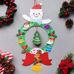 크리스마스 페이퍼 리스 5set