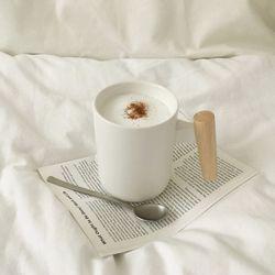 내츄럴우드 무광머그잔 (커피잔 홈카페용)