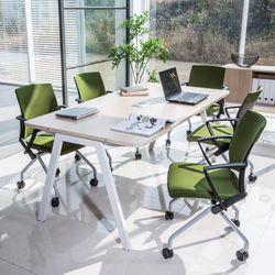 와이비 학생사무용 1800 회의테이블(멀티탭형)