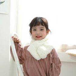아동 미니공블리퍼 머플러 목도리 양털