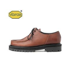 BLACK OVER SOLE TIROLEAN SHOES BROWN