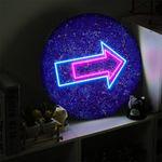 nd249-LED액자45R네온느낌방향표시LED사인
