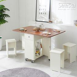 라이프 LPM 접이식 확장 식탁테이블