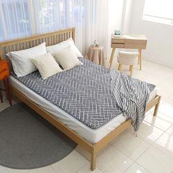 라돈프리 커버분리 전기장판 싱글 2인용 거실 침실용