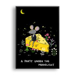 A party under the moonlight