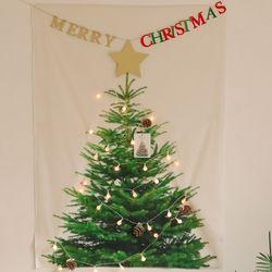 다이아나 LED앵두전구 패브릭포스터 크리스마스 벽장식