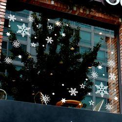 눈꽃스티커 크리스마스시트지 19CMJS5002