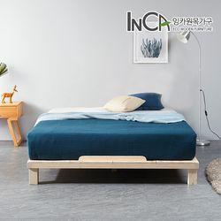 평상마루 소나무원목 저상형 침대프레임 퀸사이즈
