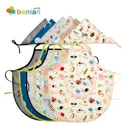 유아동방수앞치마세트(앞치마+두건)