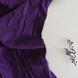 [Fabric] 라벤더 바이올렛 워싱 린넨 Lavender Violet Linen