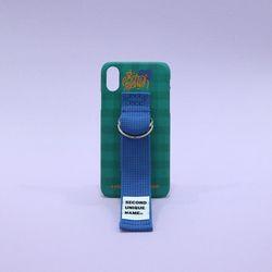 SUN CASE HOLLY GREEN RIVER BLUE (CHECK)